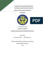 Analisis Tax Treaty Indonesia-Philipina