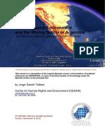 El Ambiente Periglacial y La Mineria en La Argentina English