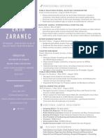 Erin Zaranec Resume