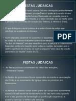 10- FESTAS JUDAICAS