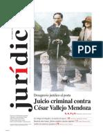 JUICIO CRIMINAL CONTRA CÉSAR VALLEJO MENDOZA