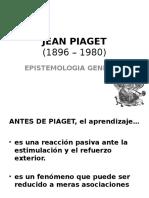Clase 04 - Piaget - Epistemologia Genetica