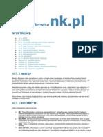 Regulamin Serwisu NK