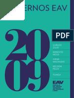 EAV Cadernos2009 Tela