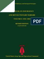 Casebook on Insurgency and Revolutionary Warfare Volume I 1933-1962