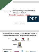 5. Estrategia de Desarrollo y Competitividad Basada en Cluster