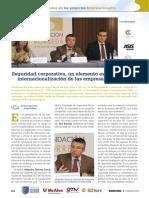 Conferencia Sectorial.la Seguridad en Los Poryectos Internacionales
