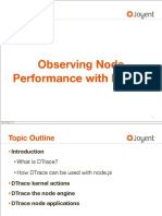 Node Performance With Dtrace