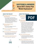 Technical Fact Sheet-Model Deployment