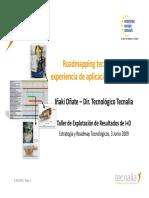 Roadmapping Tecnológico_Aplicación Tecnalia _V1_3 Junio 09