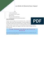 Peito de Frango Com Molho de Mostarda Dijon Original MAILLE