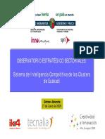 Inasmet-tecnalia - Observatorio Estratégico 17-06-09