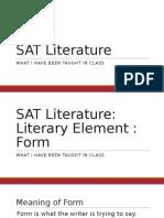 SAT Literature