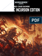 Warhammer 40.000 [Codex] 7th Ed - Chaos Daemons - Daemonic Incursion Edition