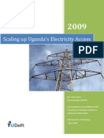 Analysis of Uganda's Electricity Access Situation