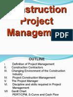 Construction Project Management Ppt Project Management Project