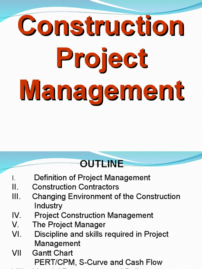 Construction project managementppt project management project construction project managementppt project management project manager ccuart Images