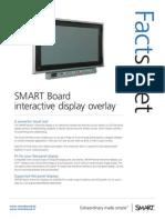 Factsheet SMART Interactive Display Overlay Corporate FR