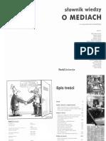 Słownik Wiedzy o Mediach - Red. E. Chudzińskiego