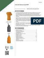 Electronica de Sensor Ph-2750 Manual