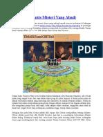 Legenda Atlantis Misteri Yang Abadi