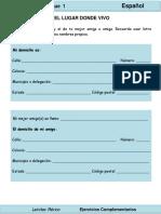 2do Grado - Español - El lugar donde vivo.pdf