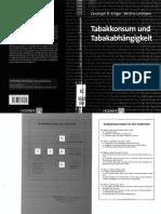 FdP, Bd. 31, Kröger (u.a.), Tabakkonsum Und -Abhängigkeit (2008)