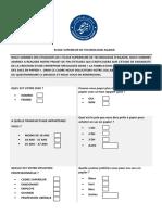 Questionnaire Prsonnes