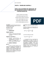 Informe PID Con Arduino-Labview