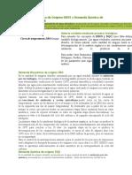 Demanda Bioquímica de Oxígeno DBO5 y Demanda Química de Oxígeno DQO