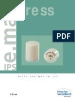 Manual Emax Press