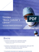 Tiroides - Nodulos y Cancer