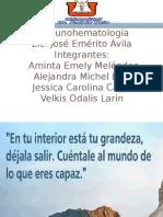 Expo de Ac Irregulares INMUNOHEMATOLOGIA