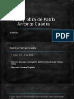 Vida y Obra de Pablo Antonio Cuadra