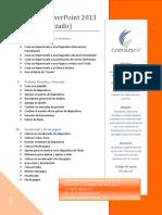 Temario PowerPoint 2013 Avanzado