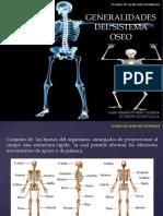 Generalidades Del Sistema Oseo