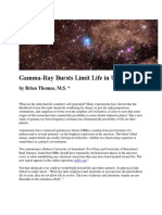 Gamma-Ray Bursts Limit Life in the Universe