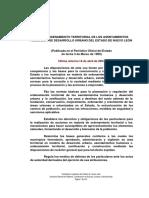 02 - Ley de Ordenamiento Territorial de Los Asentamientos