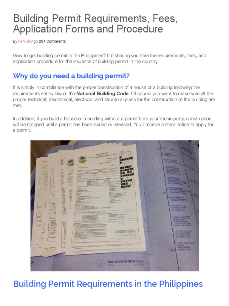 Get a building permit - how to do it quickly 58