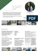 sophia gatt resume   portfolio