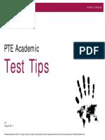 Lptea Test Tips