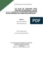 DISEÑO PLAN DE AUDITORIA PARA SG-SST EMPRESA FUNDICION DE METALES.pdf