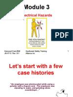 English Module3 Electrical Hazards