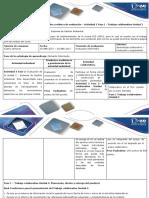 3- Guía de Actividades y Rúbrica de Evaluación - Actividad 3 Fase 1