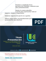 Modelo Ppt Ucc