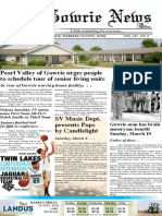 March 1 Pages - Gowrie