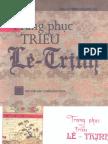 Trang Phục Triều Lê - Trịnh - Trịnh Quang Vũ