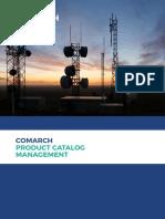 Comarch Product Catalog Management Leaflet