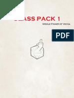 Class Pack 1