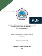 Contoh Proposal Pkm-k